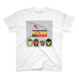 Tシャツ LUCHA DE MASK T-shirts