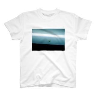 トンネルの中の蛾 T-shirts