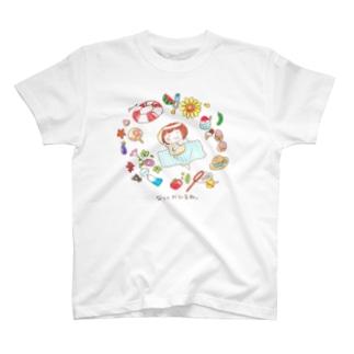 なつとおひるね Tシャツ T-shirts