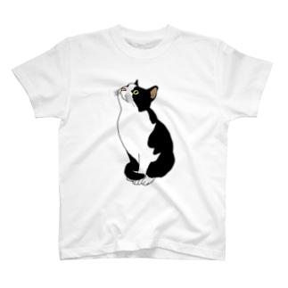 おすわりねこ T-shirts
