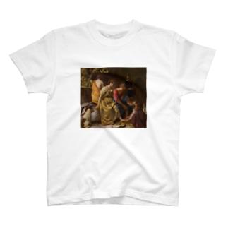 ディアナとニンフたち / フェルメール(Diana and her Companions 1654) T-shirts