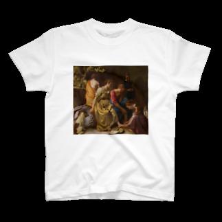 Art Baseのディアナとニンフたち / フェルメール(Diana and her Companions 1654) T-shirts