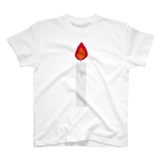 ろうそく T-shirts