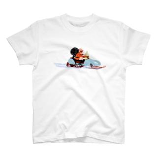 スノーモービル T-shirts