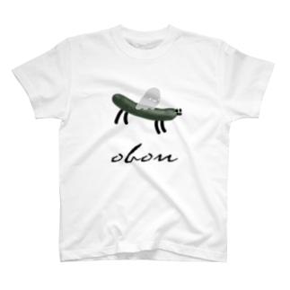OBON きゅうり T-shirts