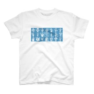 キャラ選択 T-shirts
