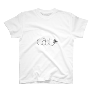 キリトリ猫 T-shirts