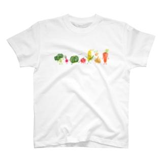 wow!やさい T-shirts