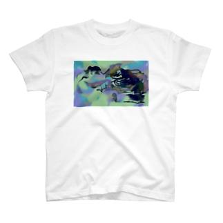 1人 T-Shirt