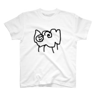 しおみひつじ T-shirts
