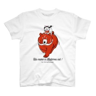 彼の名は金太郎ねこ T-shirts