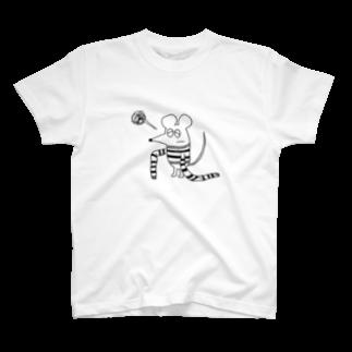 ぴゅう(・ε・)のセーターのびた T-shirts