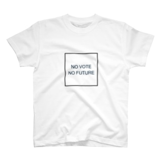 NO VOTE NO FUTURE T-shirts