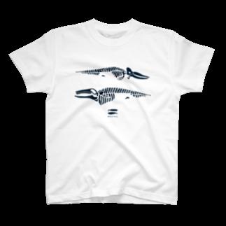 ななめやのwhalebone T-shirts