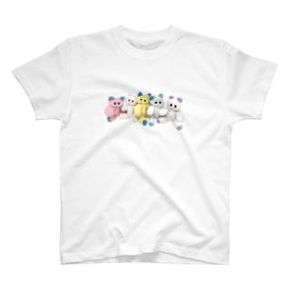 アイラブくまくま T-shirts
