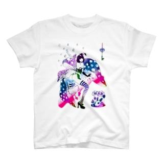 MAD ALICE 電池式キノコの国のアリス バニー型 T-shirts
