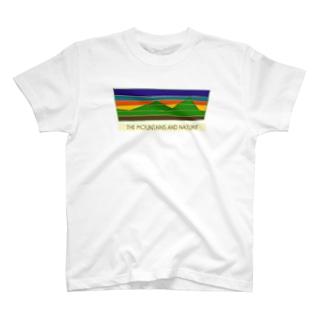 MOUNTAINS T-shirts