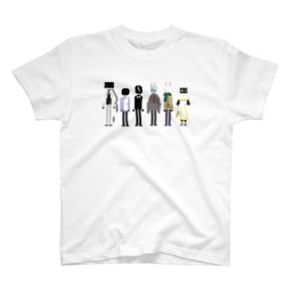 シーメトハウスの異形頭たち(文字無し) T-shirts