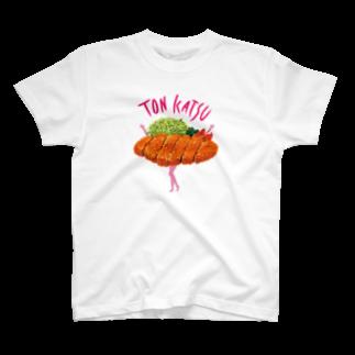 サグラダ・ピュン子のとんかつ娘 2019 T-shirts