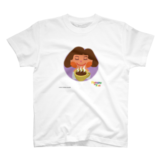 ハーモニーヨガのハーモニーヨガ 「カフェタイム」 T-shirts
