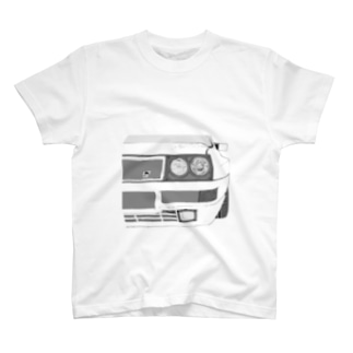 LANCIA DELTA HF FRONT(BK)  T-shirts