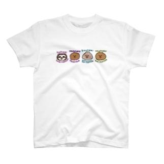 まいにちナマケモノ図鑑 T-shirts