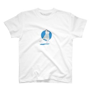 夏の女子高生 T-shirts