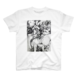 ひよこ書店 ☆ SEIKO Goods Shop from NASUのドローイング2 T-shirts
