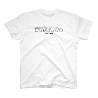 歴代しもんずげーと T-shirts