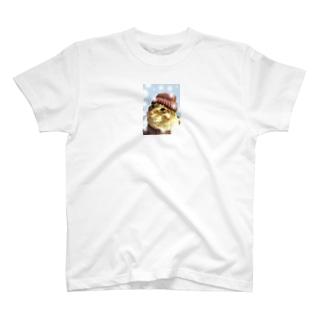 カッコイイ!猫ちゃん T-shirts