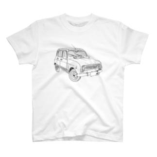 RENAULT 4GTL(BK) T-shirts