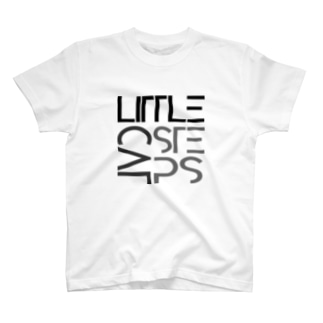 LCSロゴ(黒) T-shirts
