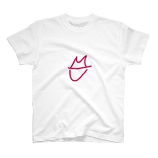 隠しきれないキスマーク(大) T-shirts
