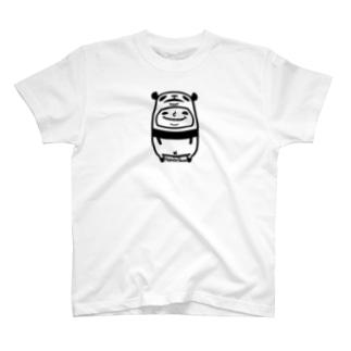 ねこぜパンダと少年 T-shirts