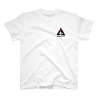 8DIMENSIONS Logo(淡い色向きロゴ) T-shirts