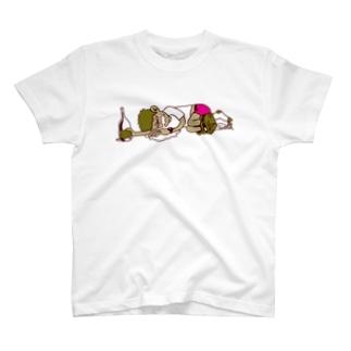 飲杉多(のみすぎた)くん T-shirts