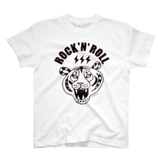 ROCK 'N' ROLL TIGER タイガー/トラ/虎 T-shirts