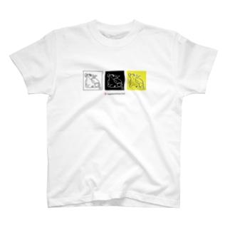 犀  JapaneseAnimals:SAI T-shirts