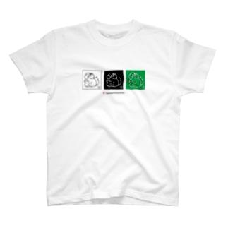 獏  JapaneseAnimals:BAKU T-shirts