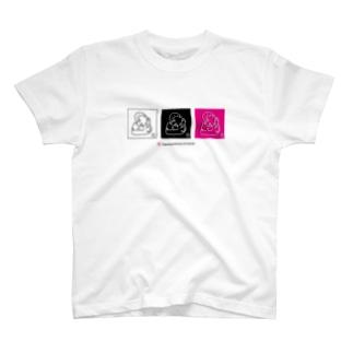 鯱  JapaneseAnimals:SYACHI T-shirts