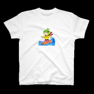 abiraidaaaのあびライダー T-shirts