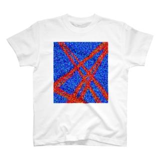 血管T #プリント #幾何学 #シンプル T-shirts