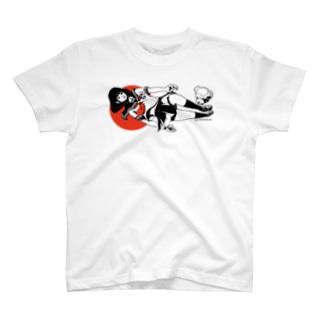 日本国娘セーラー T-shirts