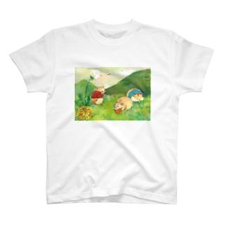 春のおしらせ T-shirts