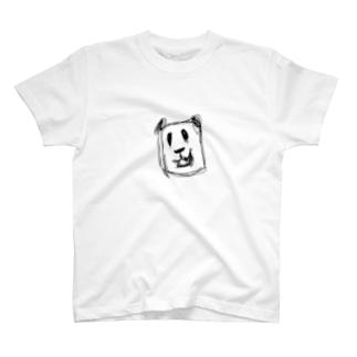 怖いパンダ T-shirts