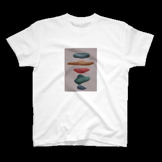 ピの人の小石 T-shirts