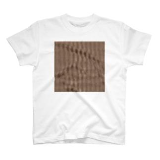 封筒地紋(花:01) T-shirts