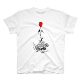 上の下と下の上 T-shirts