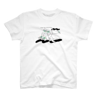 kameのとびねこ T-shirts