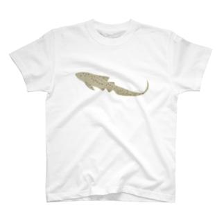 ひょっこりトラフザメさん T-shirts